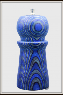 """#2420 -- Combination Salt Shaker and Pepper Mill in """"Blue Angel"""" Pattern"""